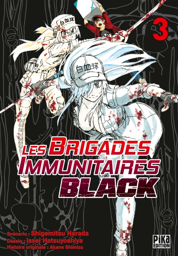 Les Brigades Immunitaires Black T03