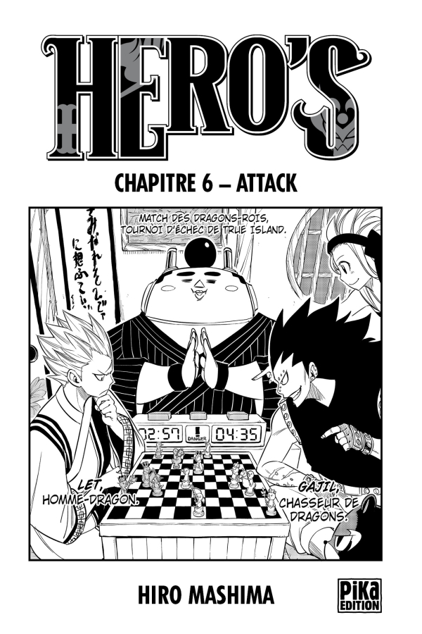 Hero's Chapitre 6