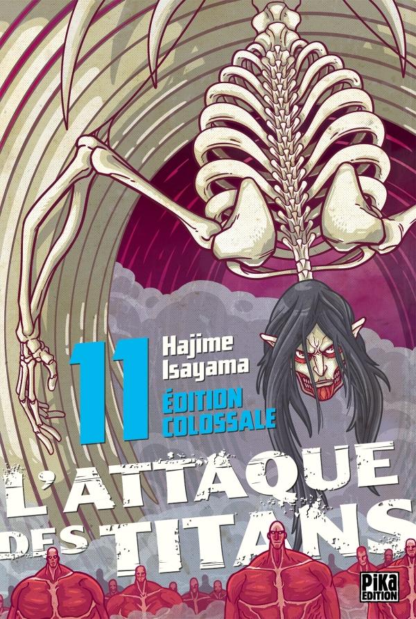 L'Attaque des Titans Edition Colossale T11