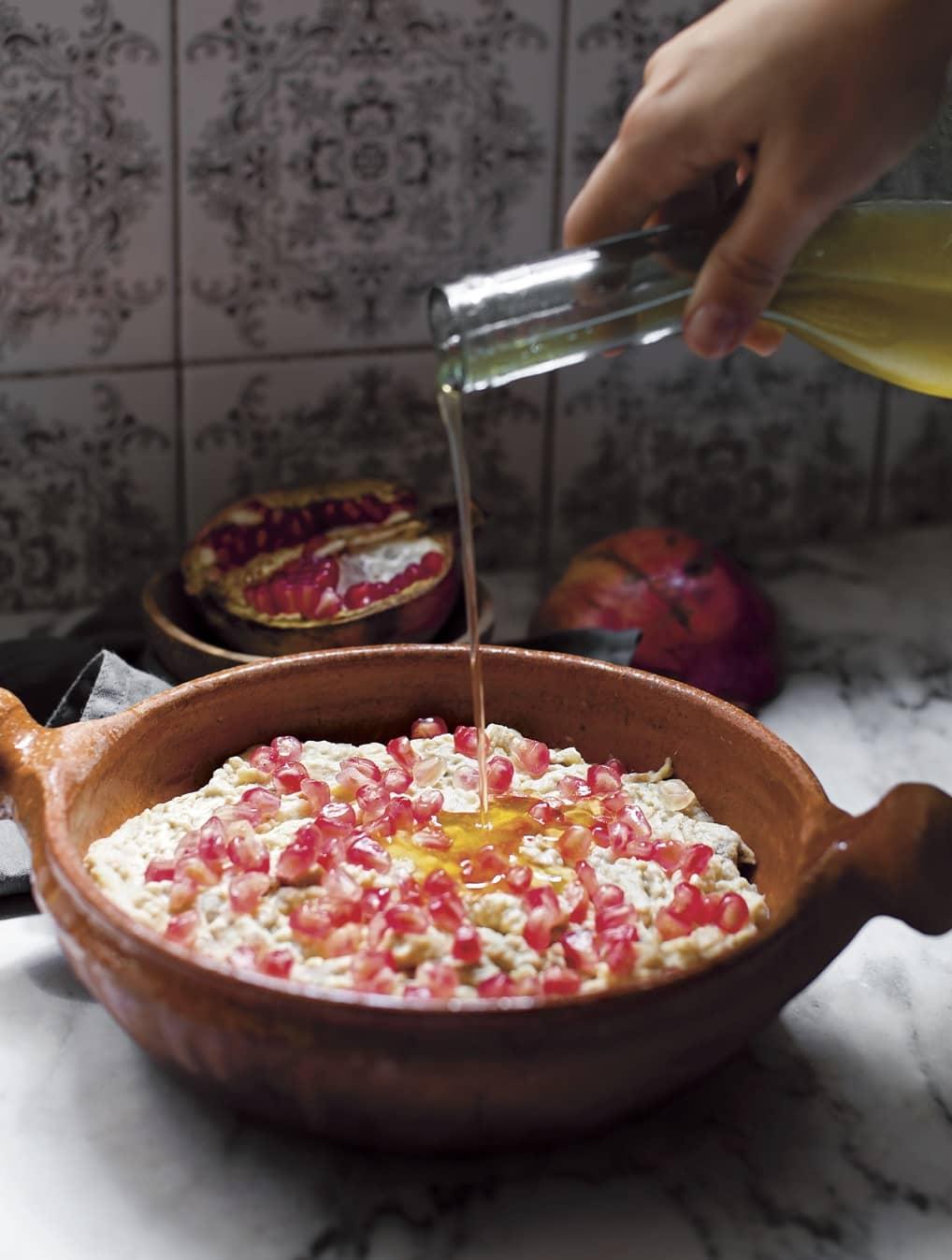 Recette du caviar d'aubergines de Tara Khatta