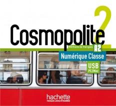 Cosmopolite 2 : Manuel numérique enseignant (clé USB)
