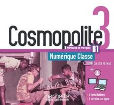 Cosmopolite 3 : manuel numérique classe (clé USB)