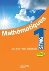 Mathématiques 1re STMG - Livre élève Format compact - Ed. 2012