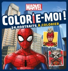 MARVEL - Colorie-moi !