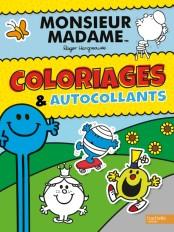Monsieur Madame-Coloriages et autocollants