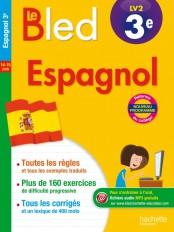 Cahier Bled - Espagnol 3E