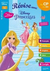Disney - Princesses - Du CP au CE1 - Cahier de vacances 2021