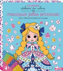 Pochette tableaux mosaiques mousse - Mosaïques jolies princesses