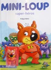 Mini-Loup Super héros / avec figurine de Mini-Loup super héros
