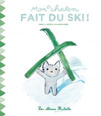 Mon chaton fait du ski !