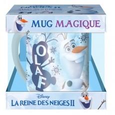 LA REINE DES NEIGES 2 - Coffret mug magique - Olaf - Disney