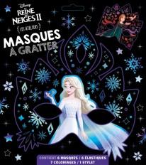 LA REINE DES NEIGES 2 - Les Ateliers Disney - Masques à gratter - Disney