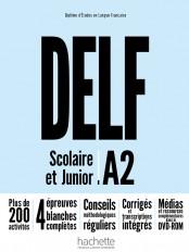 DELF A2 Scolaire et Junior + DVD-ROM (audio + vidéo) - Nouvelle édition