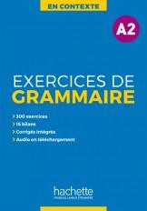 En Contexte : Exercices de grammaire A2 + audio MP3 + corrigés