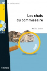 LFF A2 : Les Chats du commissaire + CD audio MP3