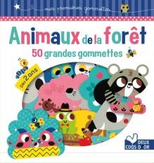 Animaux de la forêt - 50 grandes gommettes