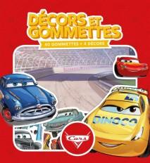 CARS - Décors et Gommettes (40 gommettes)