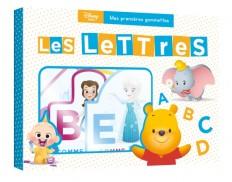 DISNEY BABY - Mes premières gommettes - Découvre les lettres
