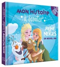 LA REINE DES NEIGES - Mon histoire à écouter - Livre CD - Un nouvel ami - Disney