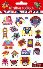 80 tattoos - robots