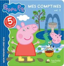 Peppa Pig - Mes comptines - vol 2
