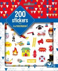 200 stickers A la rescousse - pochette d'autocollants