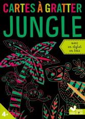 Cartes à gratter - Jungle