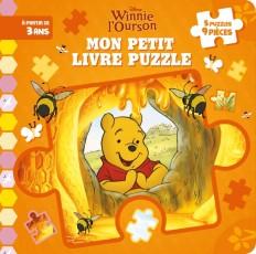 WINNIE - Mon Petit Livre Puzzle - 5 Puzzles 9 Pièces - Disney