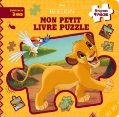 LE ROI LION - Mon petit livre puzzle