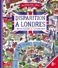 Disparition à Londres - livre avec carte