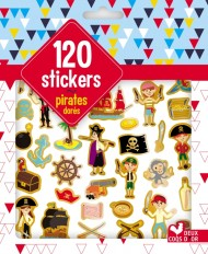 120 stickers pirates