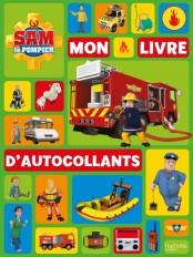 Sam le Pompier-Mon livre d'autocollants NED