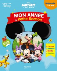 Mickey - Mon année de Petite section (3-4 ans)