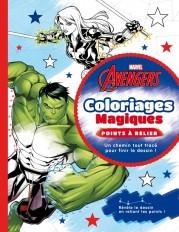 AVENGERS - Coloriages Magiques - Points à relier - MARVEL