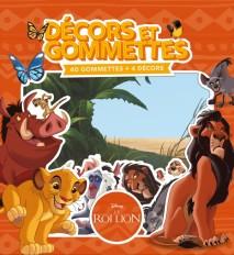 LE ROI LION - Décors et Gommettes (40 gommettes)