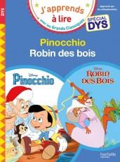 Pinocchio/Robin des Bois - Lectures Disney Spéciales DYS