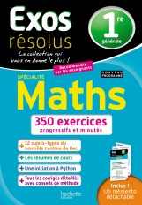 Exos résolus SPECIALITE Maths 1re