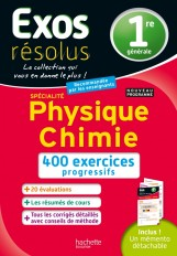 Exos Résolus SPECIALITE Physique-Chimie 1re