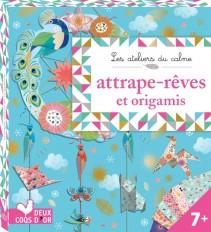 Attrape-rêves et origamis - mini-boîte avec accessoires