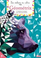Geometrix - cahier avec autocollants