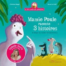 Mamie Poule raconte 3 histoires  Livre CD