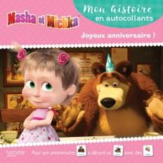 Masha et Michka- Mon histoire en autocollants