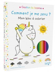 Gaston - Mon bloc à colorier