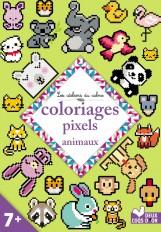 Coloriages pixels animaux