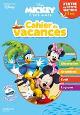 Disney - Mickey - Cahier de vacances 2020, j'entre en petite section