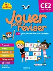 Jouer pour réviser - Du CE2 au CM1 8-9 ans - Cahier de vacances 2020