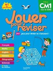 Jouer pour réviser - Du CM1 au CM2 9-10 ans - Cahier de vacances 2020