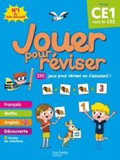 Jouer pour réviser - Du CE1 au CE2 7-8 ans - Cahier de vacances 2020