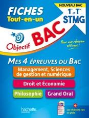 Objectif BAC Fiches Tout-en-un 1re et Term STMG  - Nouveaux programmes