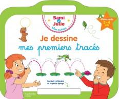 Sami et Julie - Ardoise Je dessine mes premiers tracés 3-4 ans